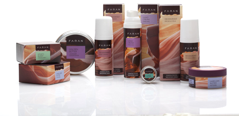 FARAN Natural products for face, babies, mineral makeup & Soaps